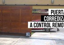 Puertas corredizas a control remoto